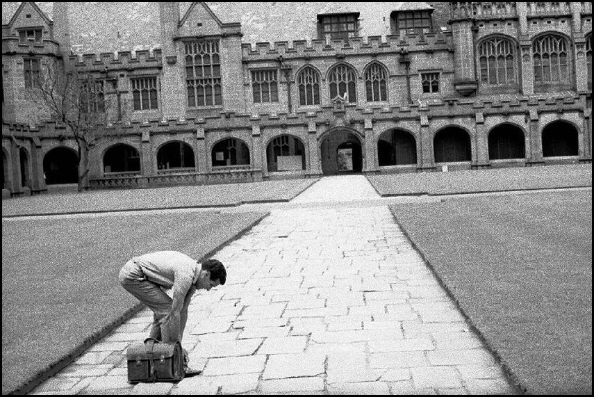 Charles Perkins at Sydney University - 1963