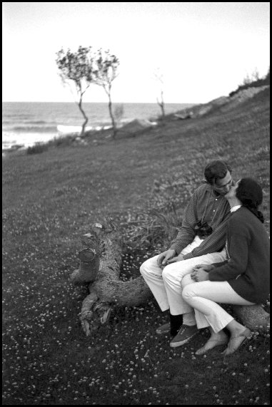 The kiss, Bouddi National Park - 1966