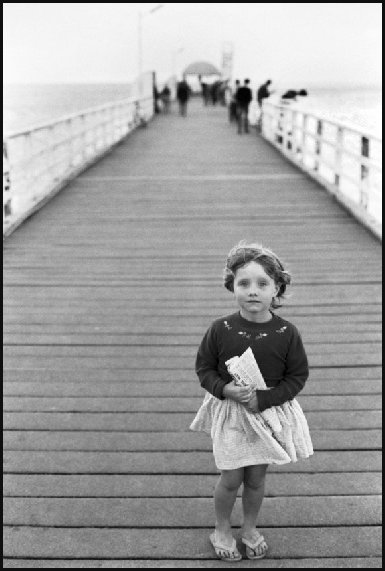 Kathy - On Brighton jetty 1964