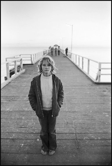 Kathy - On Brighton jetty 1973