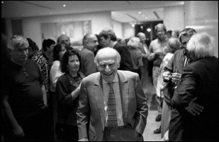 "Yehudi Menuhin (1916-1999) at  the Art Gallery of NSW screening of the 1998 Curtis Levy film ""Hephzibah"""
