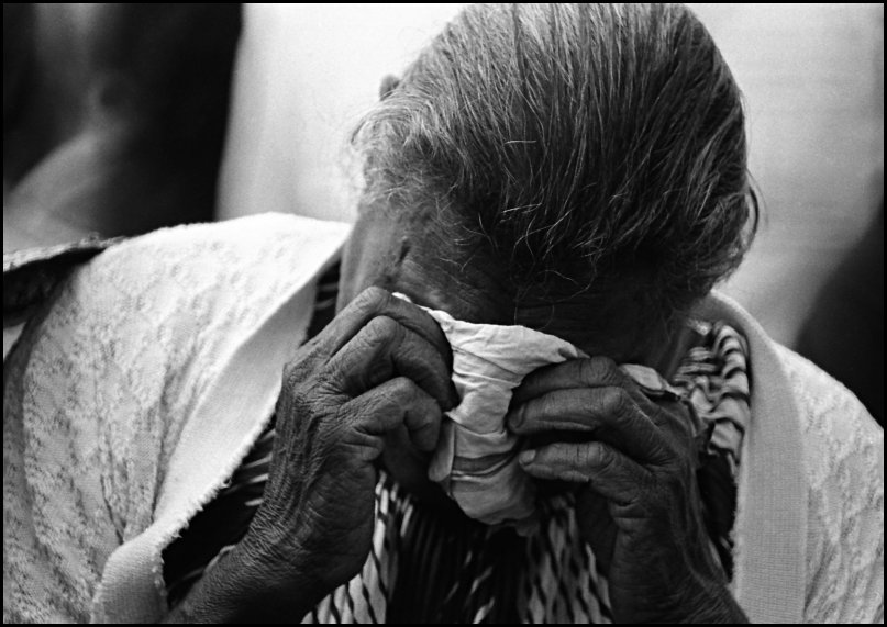 "Grieving woman - Cherbourg ""After 200 Years"" 1988"