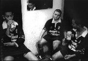Marrickville Rugby League players after defeat in 2002